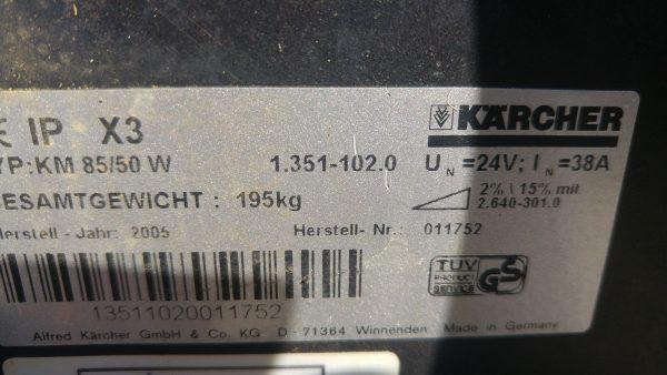 ZAMIATARKA KARCHER KM 85/50 W